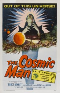 The Cosmic Man Poster