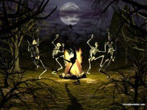 Happily Dancin' in me Bones